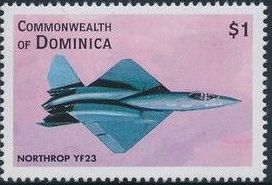 Dominica 1998 Modern Aircrafts j.jpg