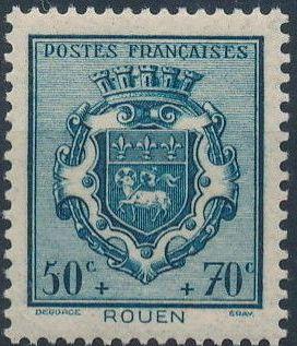 France 1941 Coat of Arms (Semi-Postal Stamps) d.jpg