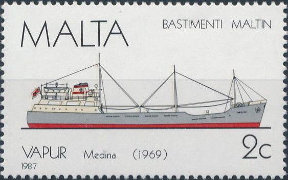 Malta 1987 Maltese Ships (5th Series)