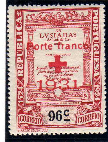 Portugal 1931 Red Cross - 400th Birth Anniversary of Camões d.jpg