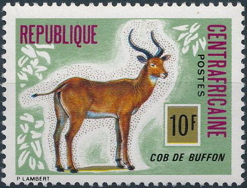 Central African Republic 1975 Wild Animals