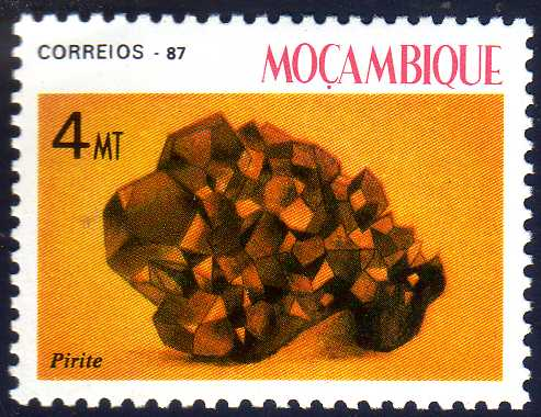 Mozambique 1987 Minerals of Mozambique (2nd Group)