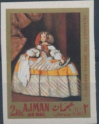 Ajman 1968 Paintings by Diego Rodriguez de Silva y Velazquez h.jpg