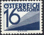 Austria 1929 Postage Due Stamps (Digit and Triangles) 3rd Issue