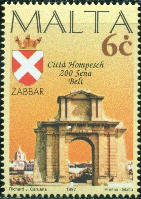 Malta 1997 Maltese City Anniversaries