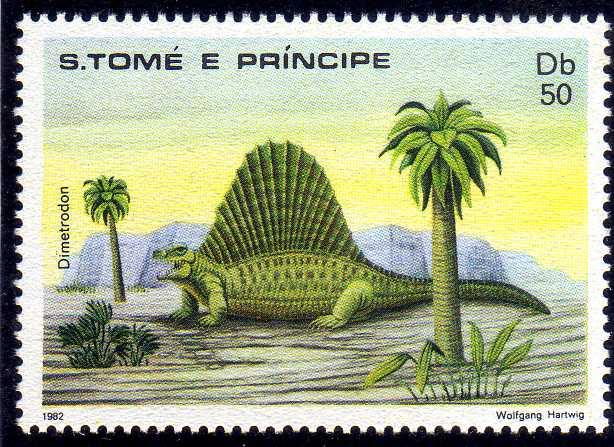 St Thomas and Prince 1982 Dinosaurs f.jpg