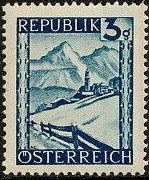 Austria 1945 Landscapes (I)