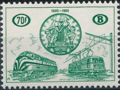 Belgium 1960 75th Anniversary of the National Railway Conferences d.jpg