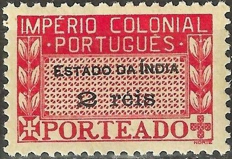 Portuguese India 1945 Portuguese Colonial Empire (Postage Due Stamps)