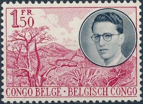 Belgian Congo 1955 King Baudouin First Trip to Congo