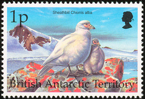 British Antarctic Territory 1998 Birds