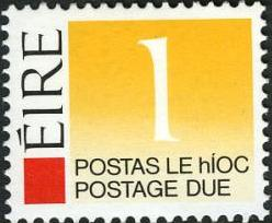 Ireland 1988 Postage Due Stamps
