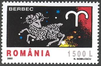 Romania 2002 The Signs of the Zodiac
