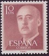 Spain 1955 General Franco