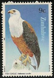 Zimbabwe 1984 Birds of prey