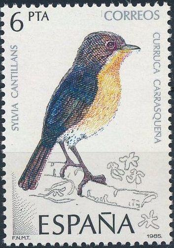 Spain 1985 Birds