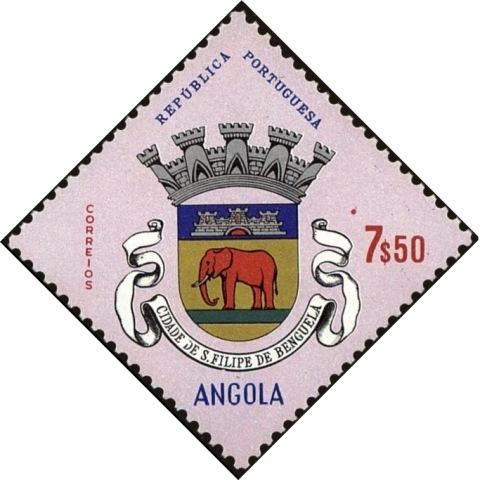 Angola 1963 Coat of Arms - (1st Serie) l.jpg