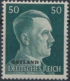 German Occupation-Russia Ostland 1941 Stamps of German Reich Overprinted in Black p.jpg