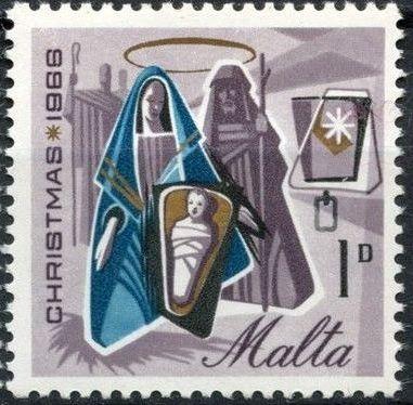 Malta 1966 Christmas