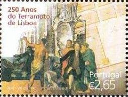Portugal 2005 250th Anniversary of the Lisbon Earthquake c.jpg
