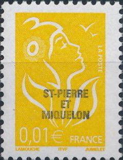 St Pierre et Miquelon 2005 Definitive Issue - Marianne des Français