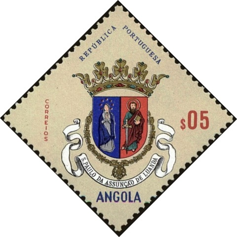 Angola 1963 Coat of Arms - (1st Serie) a.jpg