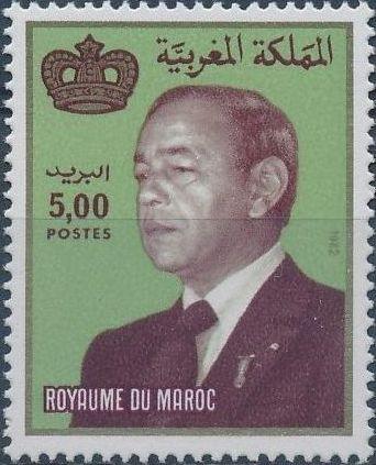 Morocco 1983 King Hassan II e.jpg