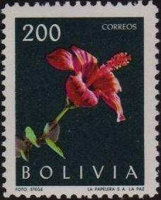 Bolivia 1962 Flowers