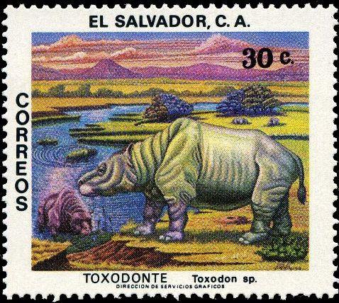 El Salvador 1979 Prehistoric Animals c.jpg