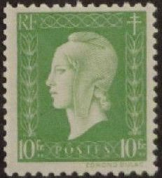 France 1945 Marianne de Dulac (2nd Issue) p.jpg