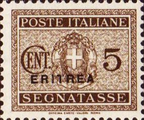 Italy-Eritrea 1934 Postage Due Overprinted a.jpg