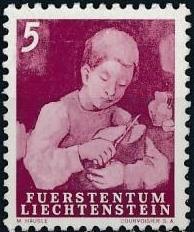 Liechtenstein 1951 Farm Labor