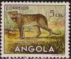 Angola 1953 Animals from Angola a.jpg