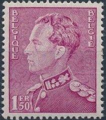 Belgium 1936 King Leopold III (1st Group)
