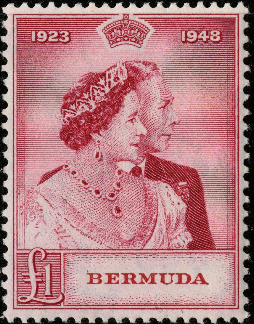 Bermuda 1948 Silver Wedding of King George VI & Queen Elizabeth b.jpg