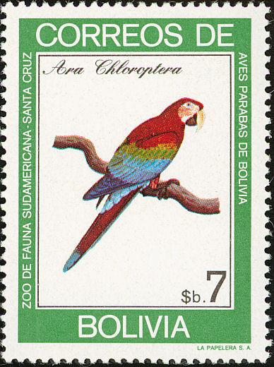 Bolivia 1981 Macaws b.jpg