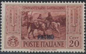 Italy (Aegean Islands)-Patmo 1932 50th Anniversary of the Death of Giuseppe Garibaldi b.jpg