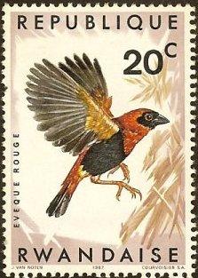 Rwanda 1967 Birds of Rwanda
