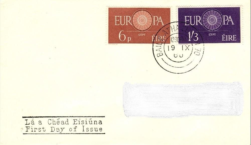 Ireland 1960 Europa FDCg.jpg