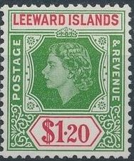 Leeward Islands 1954 Queen Elizabeth II m.jpg