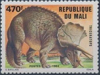 Mali 1984 Prehistoric Animals g.jpg