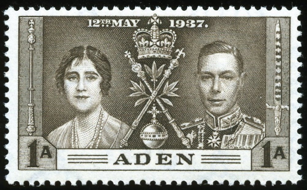 Aden 1937 George VI Coronation