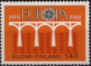 Finland 1984 EUROPA