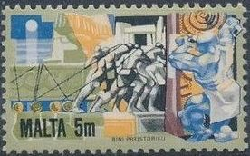 Malta 1981 History of Maltese Industry