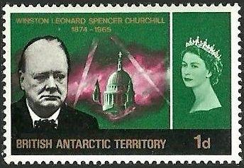 British Antarctic Territory 1966 Churchill Memorial b.jpg