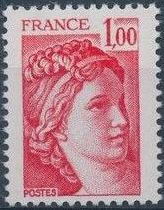 France 1977 Sabine after Jacques-Louis David (1748-1825) (1st Issue) b.jpg