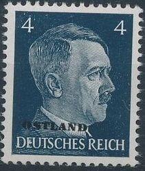 German Occupation-Russia Ostland 1941 Stamps of German Reich Overprinted in Black c.jpg