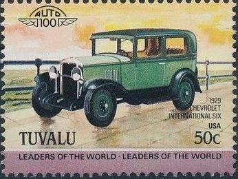 Tuvalu 1984 Leaders of the World - Auto 100 (1st Group) j.jpg