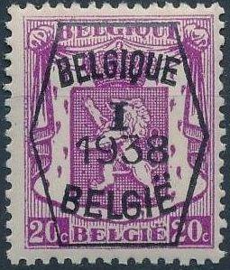 Belgium 1938 Coat of Arms - Precancel (1st Group) b.jpg