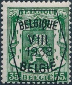 Belgium 1938 Coat of Arms - Precancel (8th Group) e.jpg